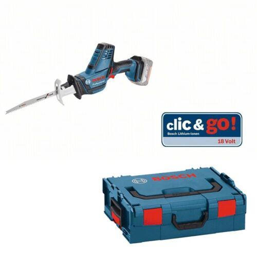 Bosch Akku Säbelsäge GSA 18 V-LI C Solo Version L-BOXX 06016A5001