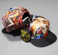 Hater Genesis Snakeskin Snapback Hat Cap 5 panel Jesus strapback NEW