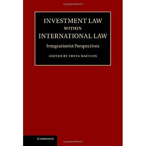 1 of 1 - Investment Law within International Law I. 9781107038882 Cond=LN:NSD SKU:3166565