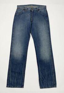 Replay-jeans-903-uomo-usato-W33-L34-tg-47-gamba-dritta-denim-blu-boyfriend-T5370