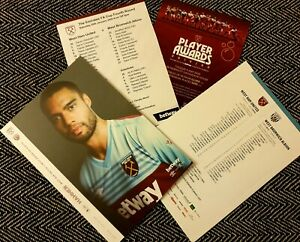 West-Ham-v-West-Brom-FA-CUP-4TH-ROUND-Programme-official-teamsheet-25-1-2020
