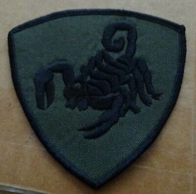 Russian  army  Scorpio spetsnaz .EMBROIDERED patch  #414 sasa