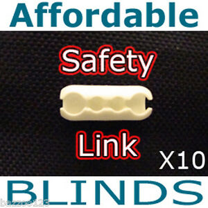 Child Safe Roller Blind Chain Connector Cord Joiner X10 Ebay