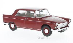 Whitebox-WHT124024-Peugeot-404-rouge-fonce-1960-1-24