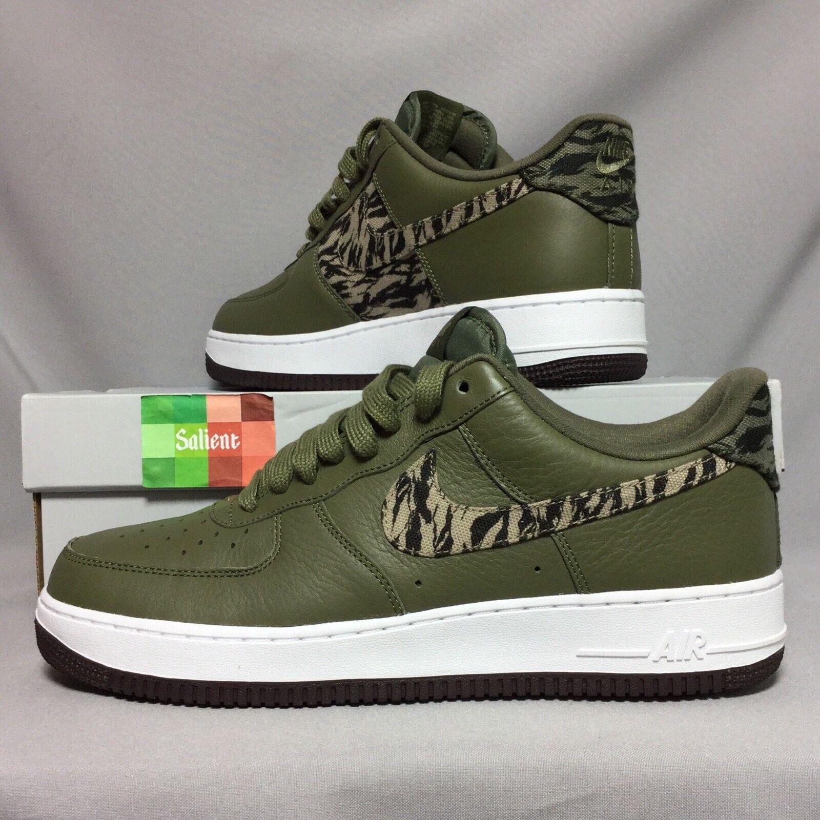 Nike air force 1 aop prm uk10 aq4131-200 camo ersten us11 premium - camouflage army