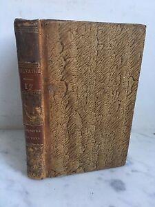 Cuentos En Hacia ,Satire, Y Poemas Melés De Votaire Edición Estereotipo 1816