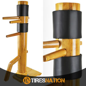 Traditional-Solid-Wood-Standing-Training-Dummy-Wing-Chun-Ip-Man-Martial-Art