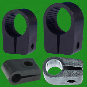 Black-Heavy-Duty-Cable-Cleats-Clips-Size-No-3-5-7-or-9-Pack-Sizes-5-50