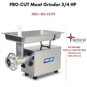 Buy Reliable & affordable PRO-CUT Meat Grinder 3/4 HP Canada Preview