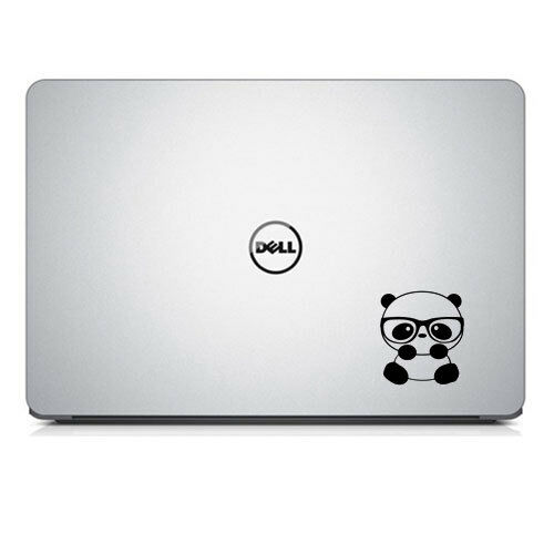Panda Adesivo Decalcomania NERD per MacBook Air /& Pro Laptop Tumbler Tazza Mug Bottiglie