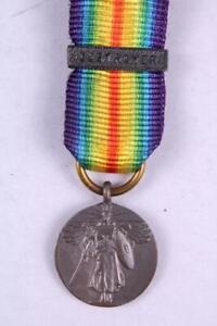 WW1 US Armee Marine Vereinigte Staaten Victory Miniatur Medaille Destroyer BAR