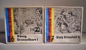 "01 021 Ddr Color-bildband ""könig Drosselbart Teil 1+2 Kpl. (86+87)"",text Im Film Die Neueste Mode"