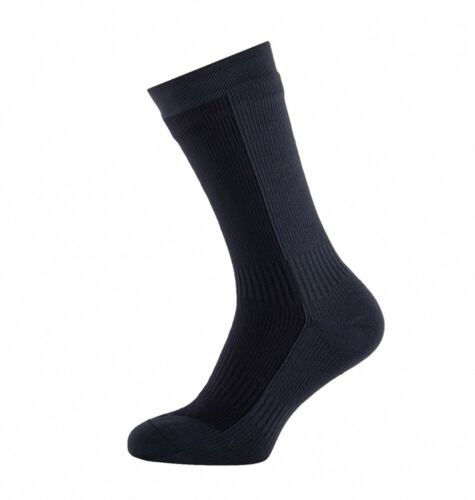 UVP 47€ Grey//Black Sealskinz HIKING MID Unisex Outdoor//Sport Socken