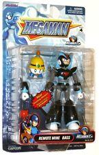 Megaman Remote Mine Bass Figure w/Poster Jazwares - RARE NIB