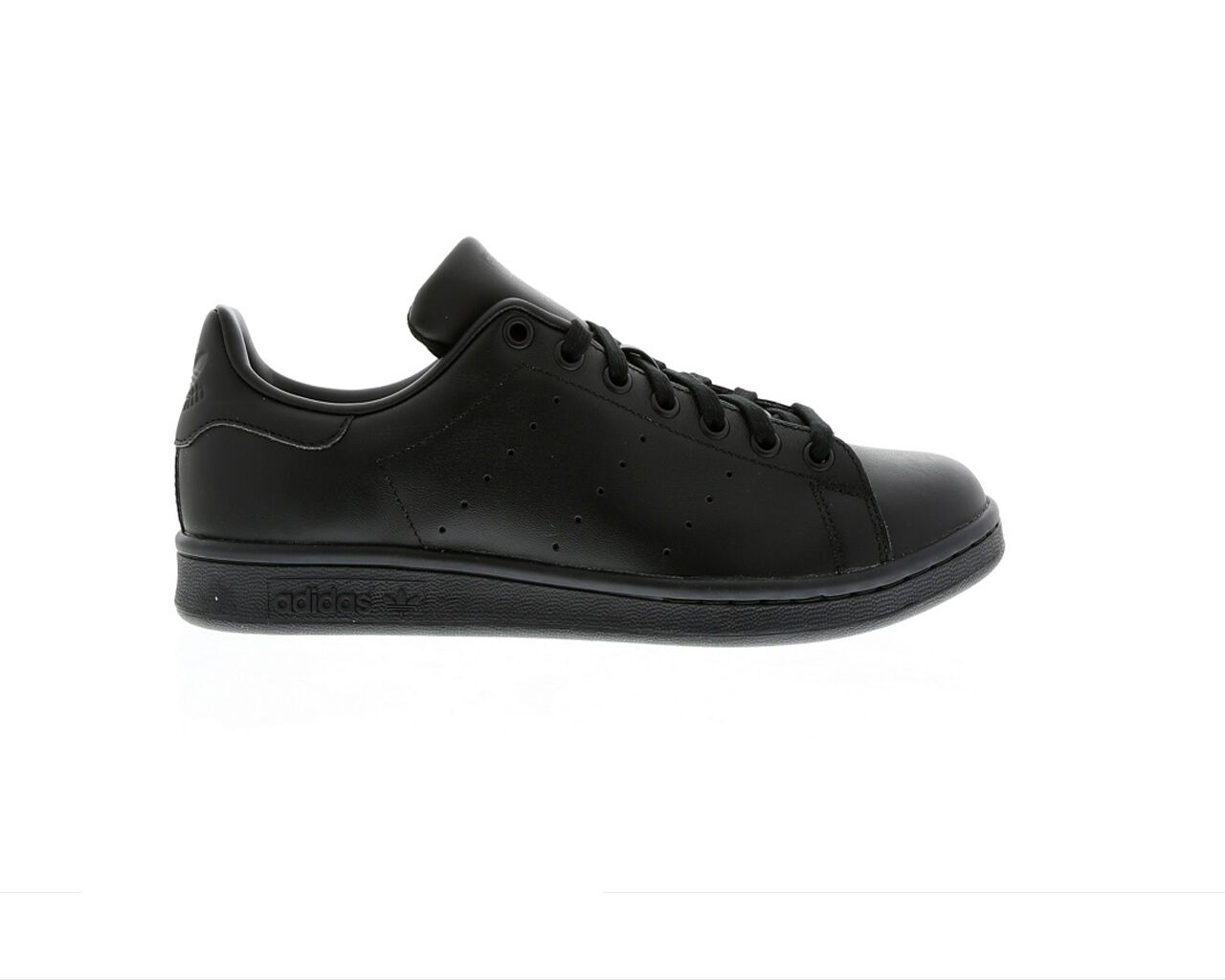 ORIGINAL ADIDAS STAN SMITH LEATHER Noir TRAINERS M20327
