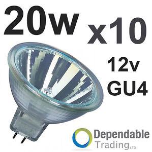 10-x-MR11-20w-Halogene-Reflecteur-Ampoule-12v-GU4-35mm
