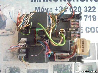 9646941180 73008812 var c CD1 Peugeot 406 Sicherungskasten