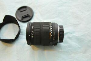 Nikon-SIGMA-18-200mm-f-3-5-6-3-DC-Auto-Focus-OS-Optical-Stabilizer-Zoom-Lens