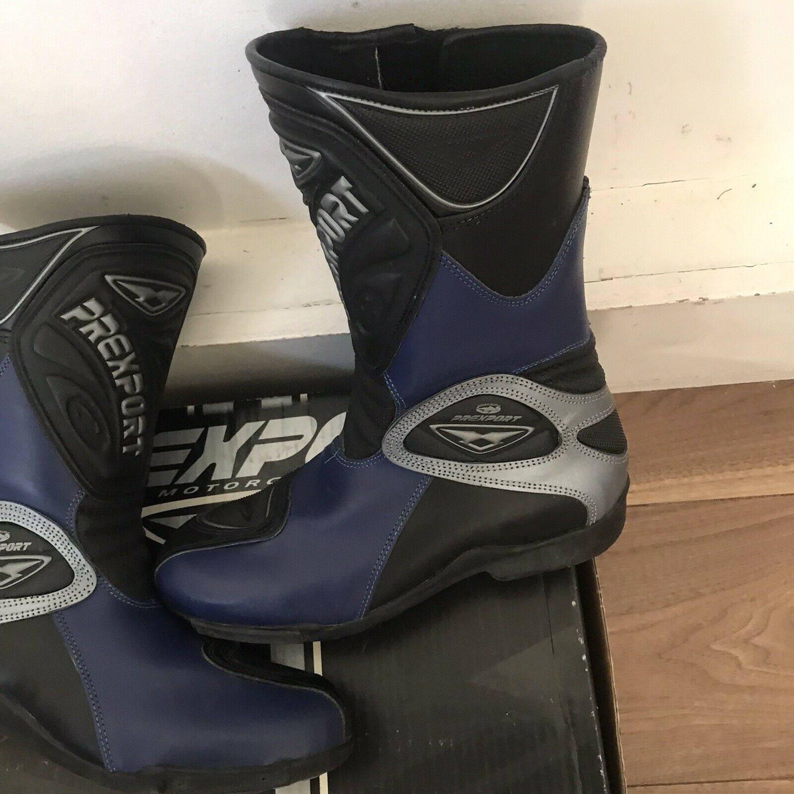 Boots Motorcycle Prexport INDYW-1629 Sport Touring IN Leather Boots ( Uk Size6)