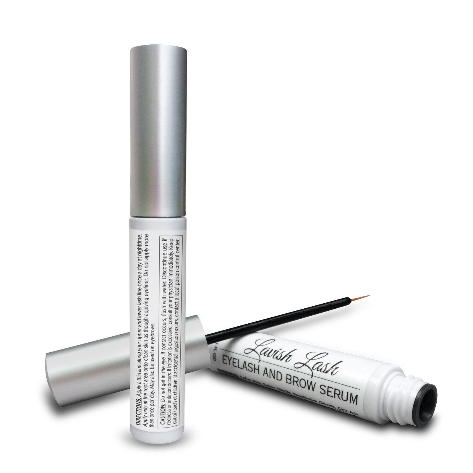 Hairgenics Lavish Lash Eyelash Growth Enhancer Brow Serum For Long