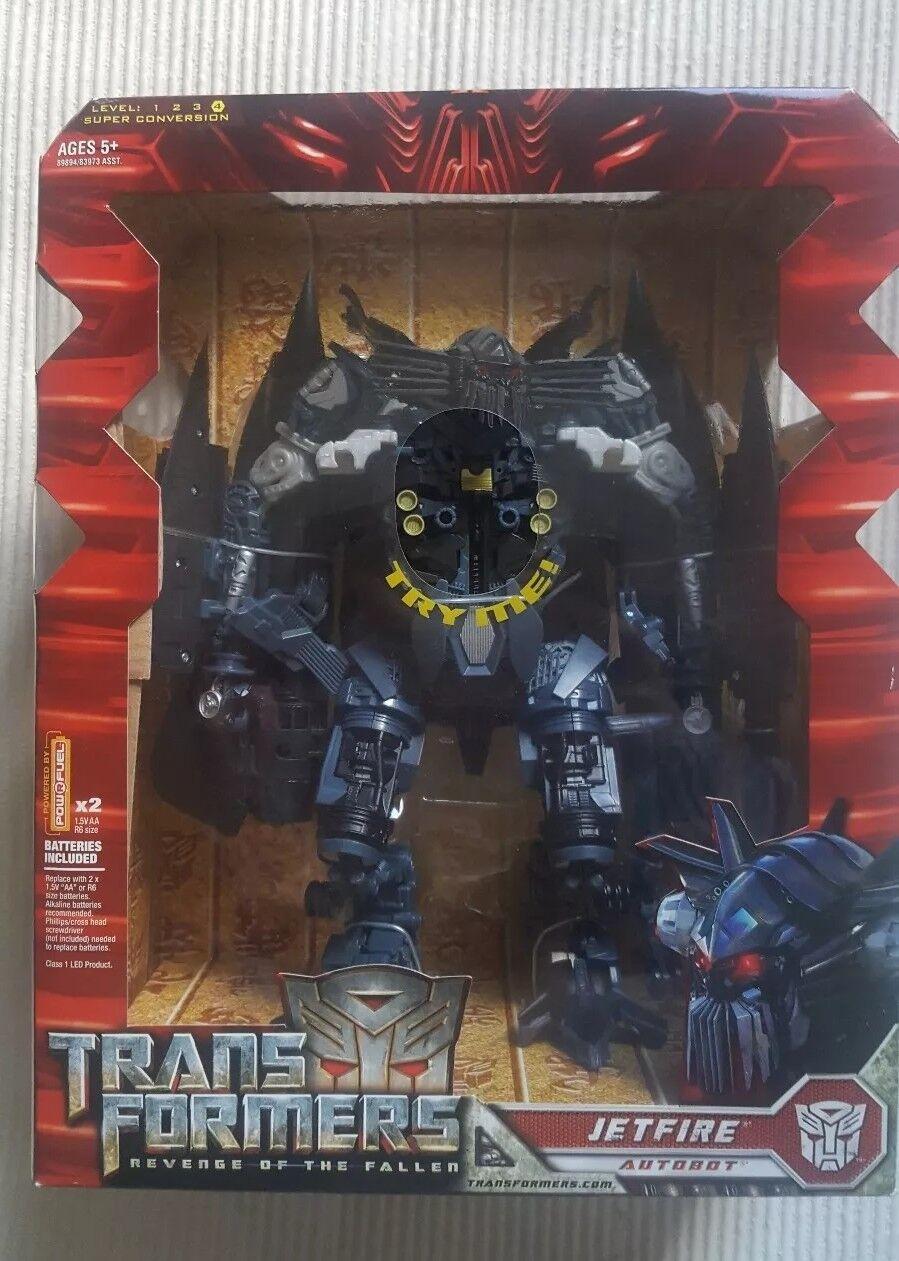 n ° 1 en línea Transformers Transformers Transformers la venganza de los caídos Jetfire Leader Class  cómodamente
