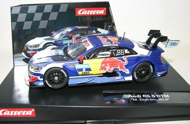 Carrera 1/32 Evolution 27586 AUDI RS 5 DTM New Nuevo1/32