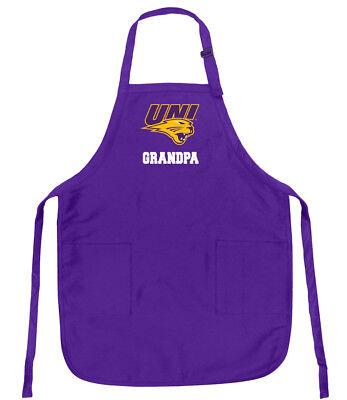 UNI Grandpa Apron BEST University of Northern Iowa GRANDPA APRONS w// POCKETS!