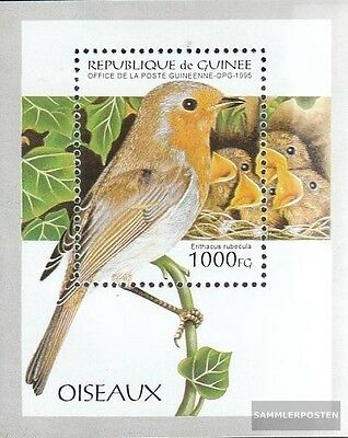 Unmounted Mint / Never Hinged 1995 Songbirds Novel Ingenious Guinea Block494 Design; complete.issue. In