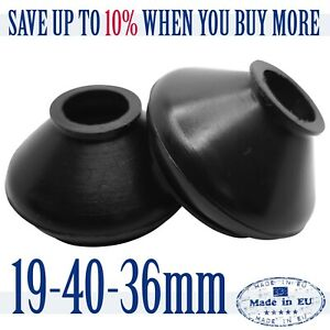 2-X-High-Quality-Rubber-Dust-Boots-19-40-36-Track-Rod-End-and-Ball-Joint-Boots