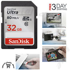 SanDisk 32GB Class 10 SDHC UHS-I Memory Card (SDSDUNC-032G-GN6IN)