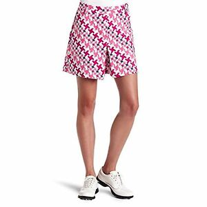 Women s PUMA - Golf Novelty Shorts White Shocking Pink Size 4 (T4 ... cefcef0016