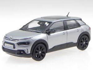 Citroen-C4-Cactus-2018-grey-Deko-black-diecast-modelcar-155476-Norev-1-43