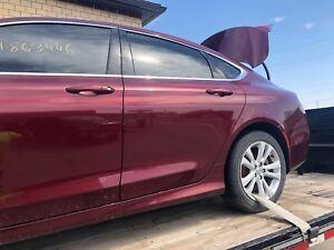 Chrysler 200 Rear >> Details About 15 16 17 Chrysler 200 Rear Driver Side Door Glass Used