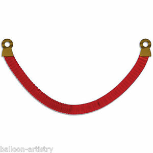 8ft-Hollywood-VIP-Party-Red-Tissue-Paper-Stanchion-Rope-Decoration