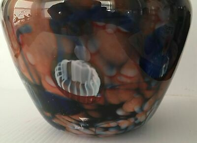 1990/'s Clear//Colorful Glass//Pottery//Clay Decorative Vases C1 Vintage 1960/'s
