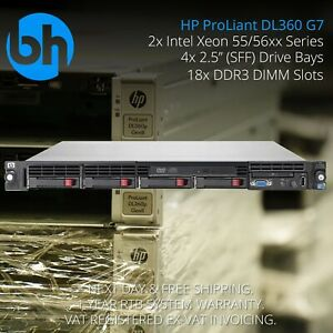 HP-DL360-G7-2x-X5650-Intel-Xeon-Six-6-Core-48GB-DDR3-ProLiant-1U-Rack-Server