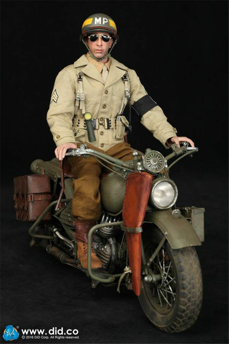 DID 1/6 The second world war U.S. The 2nd armoROT division Military police BRYAN
