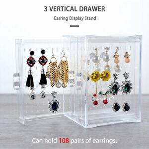 Acrylic-Earring-Storage-Box-Jewelry-Necklace-Display-Stand-Holder-Rack-Organizer