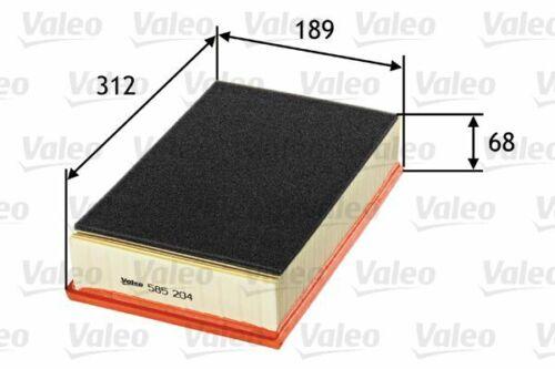 Valeo filtro de aire 585204 para VW