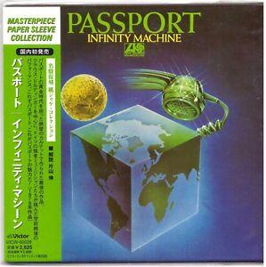 PASSPORT-Infinity-Machine-CD-Japan-Mini-LP-Sleeve-w-Obi-Insert