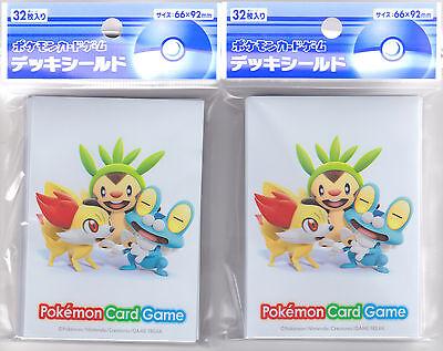 Pokemon Card XY Official Deck Case Chespin Fennekin Froakie Japanese