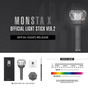 MONSTA-X-MONSTA-X-OFFICIAL-LIGHT-STICK-VER-2-Free-Shipping-Tracking-In-Stock