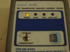 Fluke Dale 800b Tee Transducer Leakage Current Tester For Acuson Sonoline