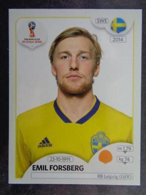 Schweden Sticker 483 Panini WM 2018 World Cup Russia Emil Forsberg