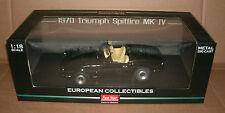 1/18 Triumph Spitfire MK IV Diecast Model - Black 1970 Roadster - Sun Star 1046