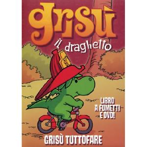 Grisu il draghetto #11 grisu tuttofare dvd libro [dvd nuovo