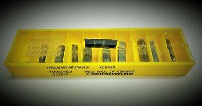 Kennametal 10 pcs A4G0505M05U04GMP KC5025  Carbide Inserts