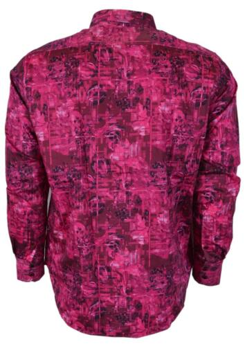 NEW Robert Graham $198 BAYSHORE Pink Floral Cotton Classic Fit Sports Shirt
