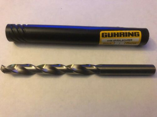 Guhring #732 WN R-N 8.84mm Solid Carbide Drill ***NEW***