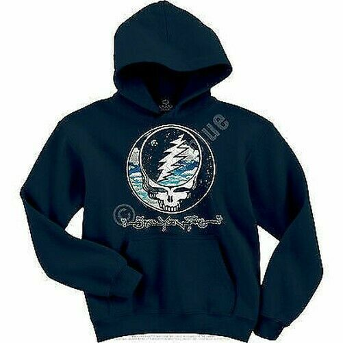 GRATEFUL DEAD STEAL YOUR SKY AND SPACE MENS PULL OVER HOODIE SWEAT SHIRT S-2XL